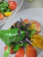 和田さんのトマトサラダ