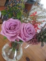 お友達にもらったお花